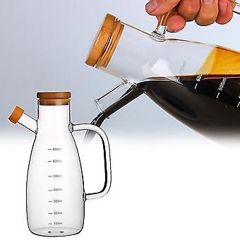 Nordic style 650 ml glazen pot