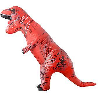 Big Red Tyrannosaurus Rex (adult Version) Halloween Cosplay Tyrannosaurus Rex Inflatable Costume Dinosaur Costume