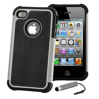 Shock Proof Case Cover For Apple iPod Touch 5 - Grey