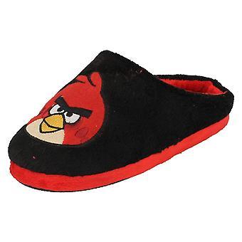 Neonato/Junior Boys Angry Birds Velour Slipper