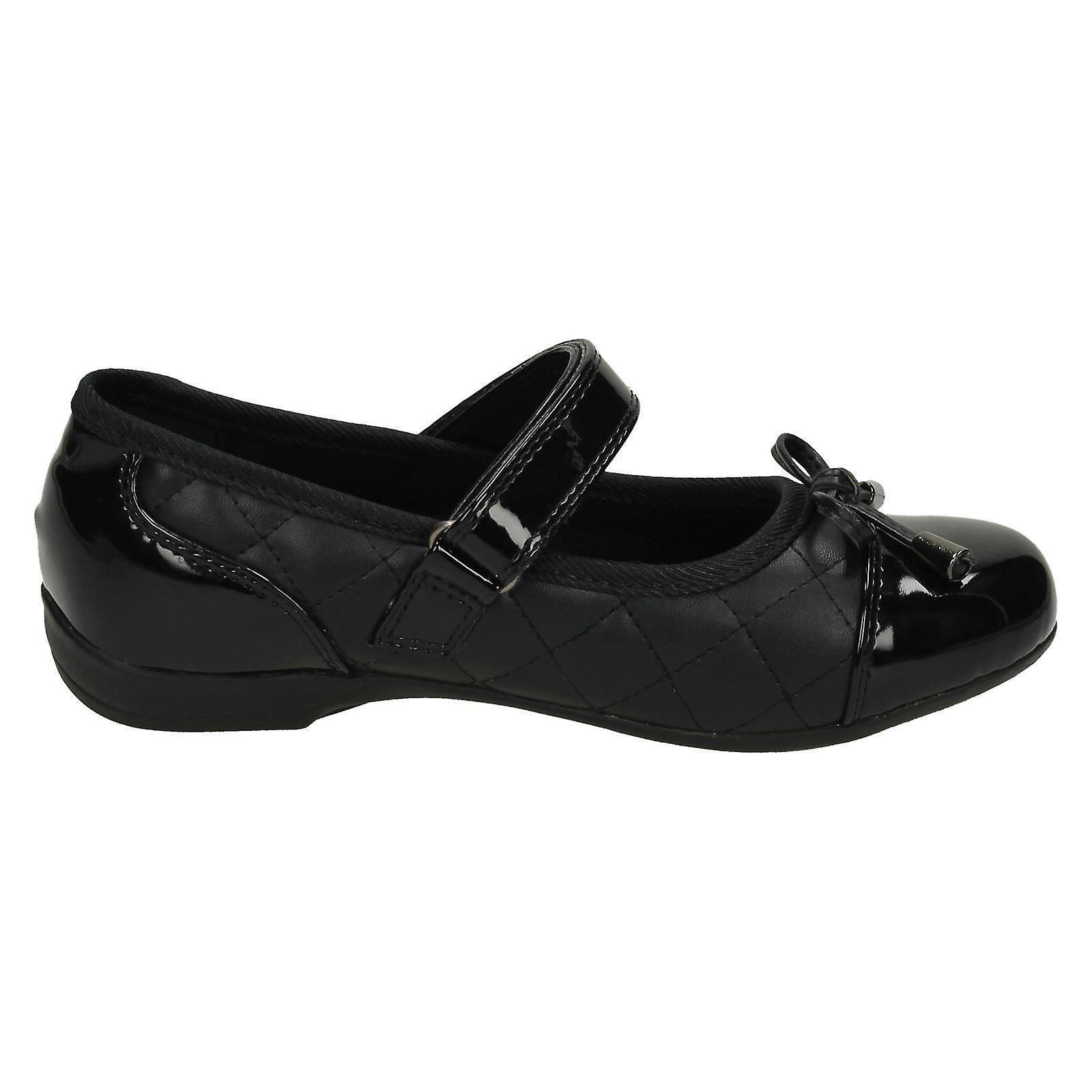 Filles Cool pour l'école matelassé Vamp école chaussures H2424 Ki87rl