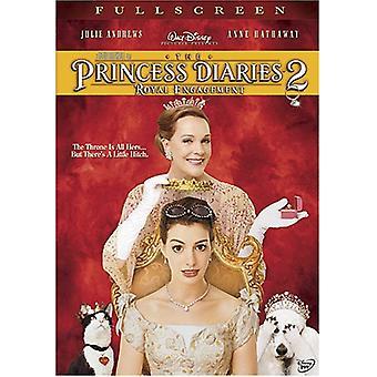 Importer des Princess Diaries 2-Royal Engagement [DVD] é.-u.