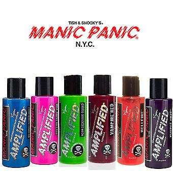 4 x Manic Panic Amplified Hair Color Various Colours