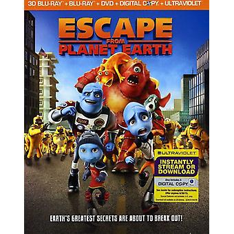 Escape From Planet Earth 3D [BLU-RAY] USA import