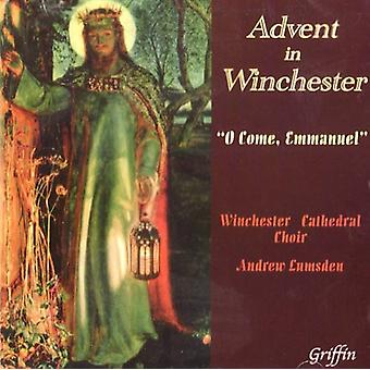 Winchester Cathedral Choir - Advent in Winchester: O Come, Emmanuel [CD] USA import