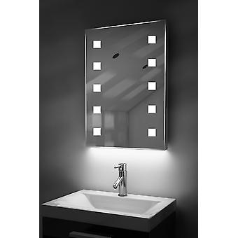 Automaattinen väri muuttaa RGB LED peili huurteenpoistolaitetta & anturi K207irgb