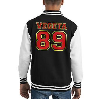 Dragon Ball Z Vegeta Number Varsity Kid's Varsity Jacket