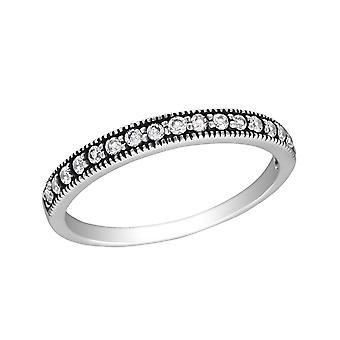Eternity - en argent Sterling 925 empierré anneaux - W30142X