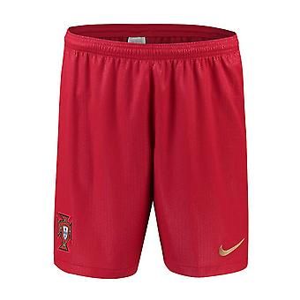 2018-2019 Portugal Nike Accueil Shorts (rouge)
