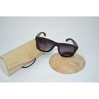 Houten bril zonnebril gepolariseerde UV-400 bescherming tegen echte sandelhout houten zonnebrillen handgemaakte unieke