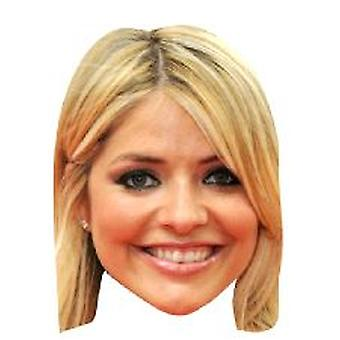 Holly Willoughby kasvonaamion