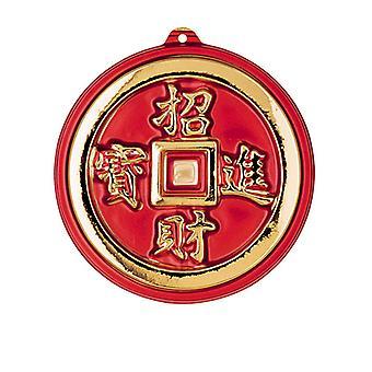 3D orientaliska mynt dekoration - 25cm