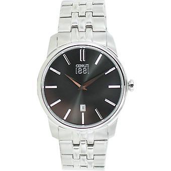 Cerruti 1881 mens relógio relógio de pulso CRA117SN02MS de Pavia