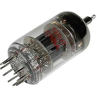 ECC 82 = 12 AU 7 vacuüm buis dubbele Triode 100 V 11,8 mA aantal pinnen: 9 basis: Noval inhoud 1 PC (s)