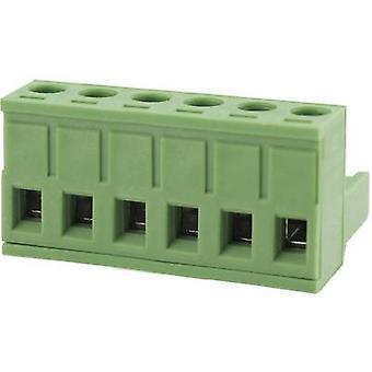 Degson Pin behuizing - kabel totaal aantal pinnen 5 Contact afstand: 5.08 mm 2EDGK-5,08-05P-14-00AH 1 PC('s)