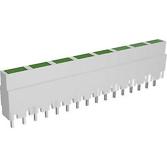 Signal Construct ZALW 082 LED linear array 8x Green (L x W x H) 40.8 x 3.7 x 9 mm