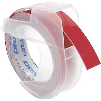DYMO S0898150 Labelling tape Tape colour: Red Font colour: White 9 mm 3 m