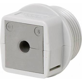 Icotek QVT 25 kabel przelotka compartimentable poliwęglanu (PC) szary 1 szt.