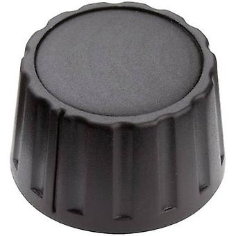 Mentor 4333.6000 bedieningsknop zwart (Ø x H) 28 x 17 mm 1 PC('s)