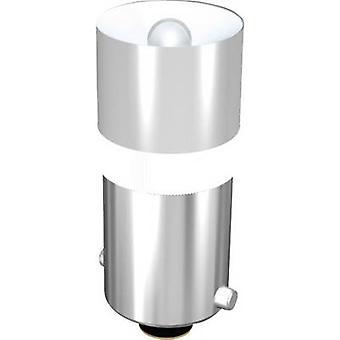 Signal Construct LED indikator lys BA9S Hvid 24 V DC 2000 mcd 428 mlm MEDB2564