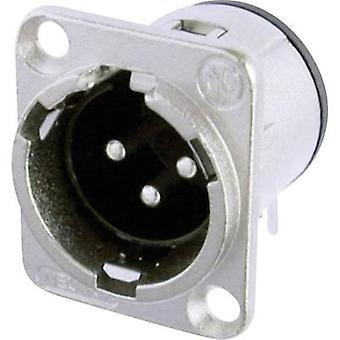 Neutrik NC3MD-H XLR kontakt ärm, rätt vinkel stift antal stift: 3 Silver 1 dator