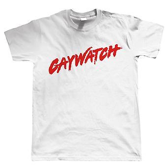 Gaywatch Camiseta - Benidorm Pride Festival LGBT Lesbian Gay Bisexual Transgénero