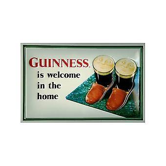 Guinness Tossut kohokuvioitu teräksen merkki