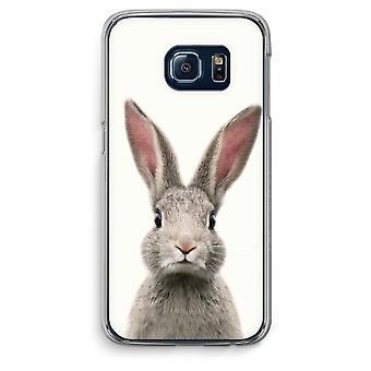 Custodia trasparente Samsung Galaxy S6 Edge (Soft) - Daisy