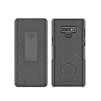 Verizon Shell Holster Combo Case with Kickstand for Samsung Galaxy Note 9 - Black