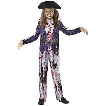 Dziecięce stroje karnawalowe piracki strój halloween dziewczyny