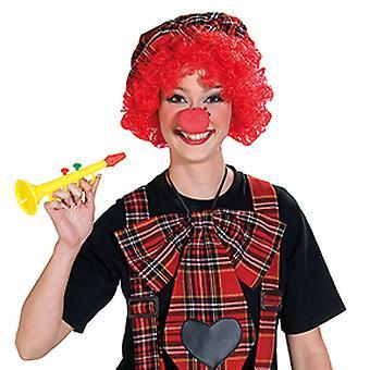 Mousse de nez de clown rouge Circus accessoire Carnaval