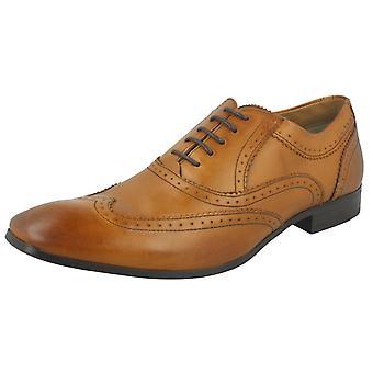 Mens Base Londen Lace Up schoenen Hof VOO