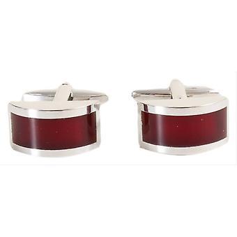 David Van Hagen curvo gemelli - rosso/argento