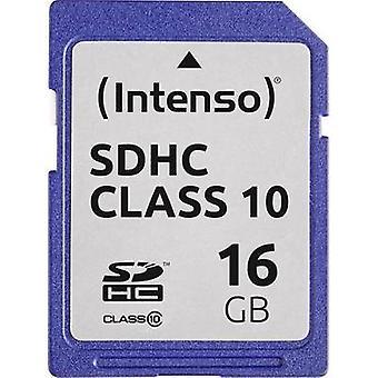 Intenso 3411470 SDHC-kort 16 GB klass 10