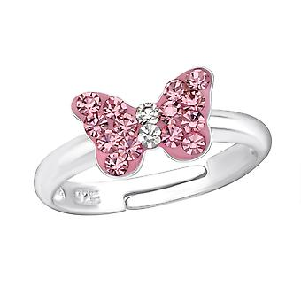 Butterfly - 925 Sterling Silver Rings - W23477x