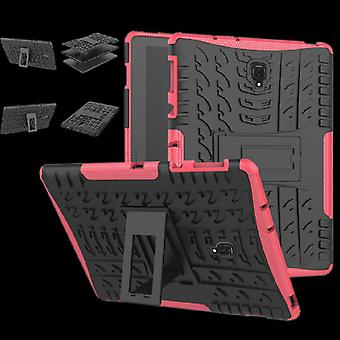 For Huawei MediaPad T5 10.1-inch hybrid outdoor protective cover case pink pouch cover case