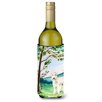 تحت شجرة قمح الكلب زجاجة النبيذ المشروبات عازل نعالها
