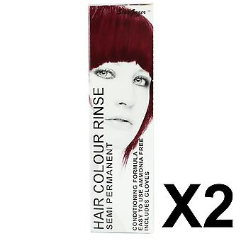 Semi Permanent Hair Dye by Stargazer - Eggplant x 2 Packs