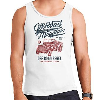 Vintage Off Road Mountain Jeep Men's Vest