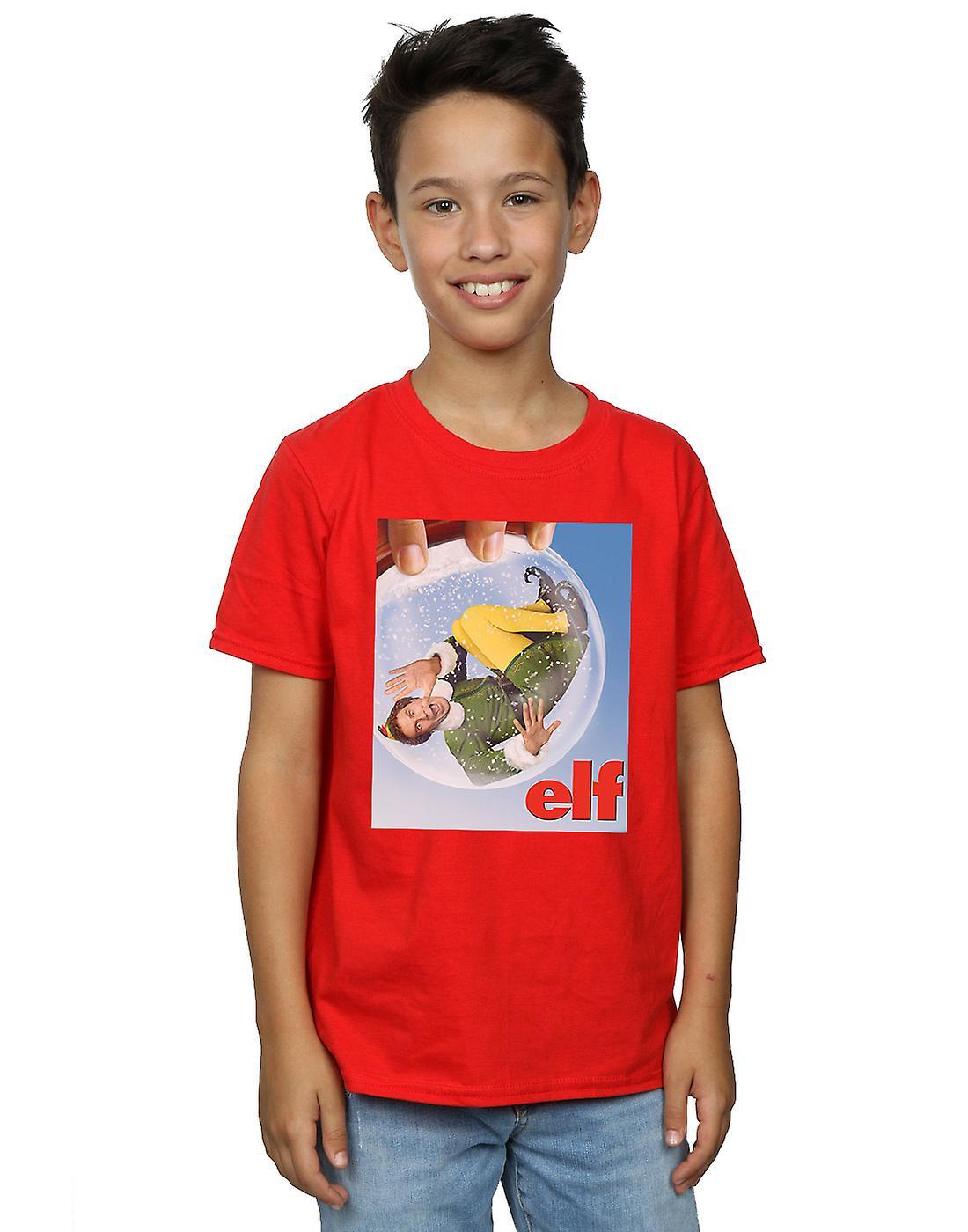 Elf Boys Snow Globe Poster T-Shirt