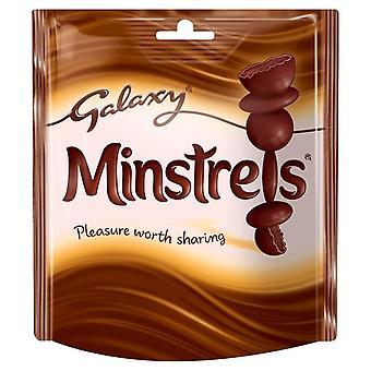 Galaxy Minstrels Chocolate Pouches
