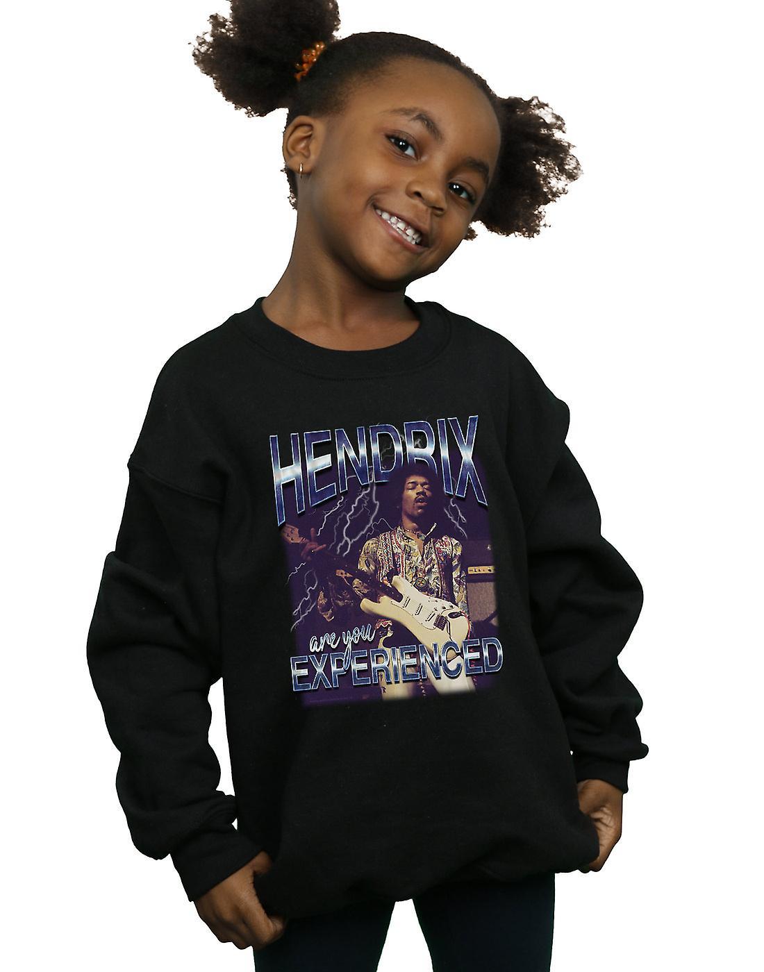 Jimi Hendrix Girls Lightning Experience Sweatshirt