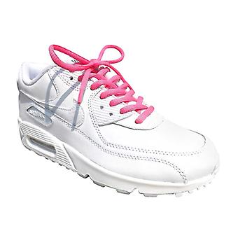 Pink Oval Sports Laces