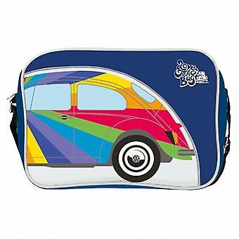 Official VW Classic Beetle Car Messenger Shoulder Bag - Blue