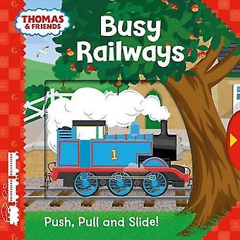 Thomas & Friends - ferrocarriles ocupados (Push - Pull y diapositiva!) - 9781405285