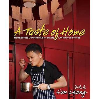 Un avant-goût de la maison - repas chinois maison pour Sahring avec la famille un