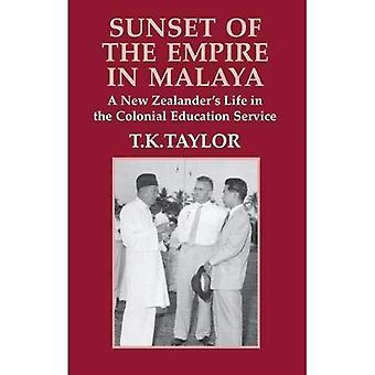 Sonnenuntergang des Reiches in Malaya