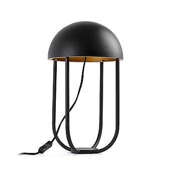 Faro - maneter svart och guld LED tabell lampa FARO24522
