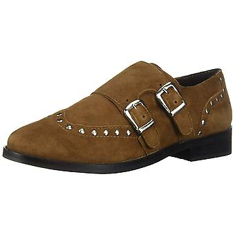 Musse & Cloud Womens Ebony Leather Closed Toe Loafers