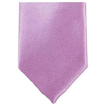 Gravata de poliéster magro Neckwear Knightsbridge - pérola rosa